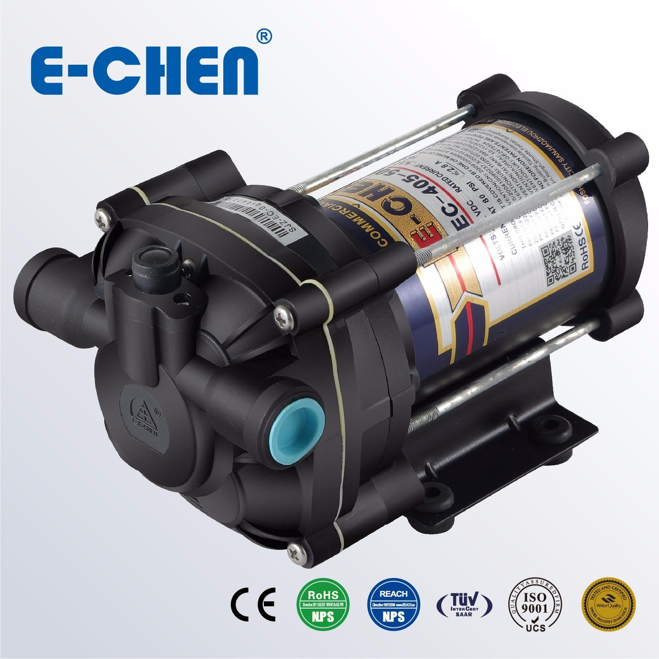 800 Gpd Diaphragm Pump 80psi 5 3 L M Commercial Reverse Osmosis 408AC china water system pump (fl 35, fl 40, fl 43) china industrial  at bayanpartner.co