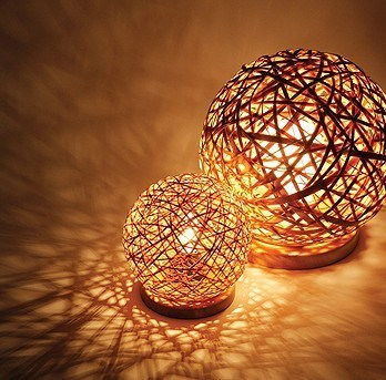 Decoration for your daily life - Hand made lamps ...