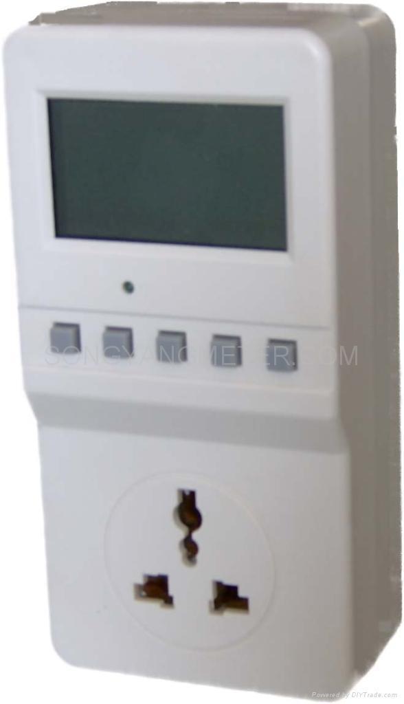 Plug In Watt Hour Meter : China plug in energy meter pd