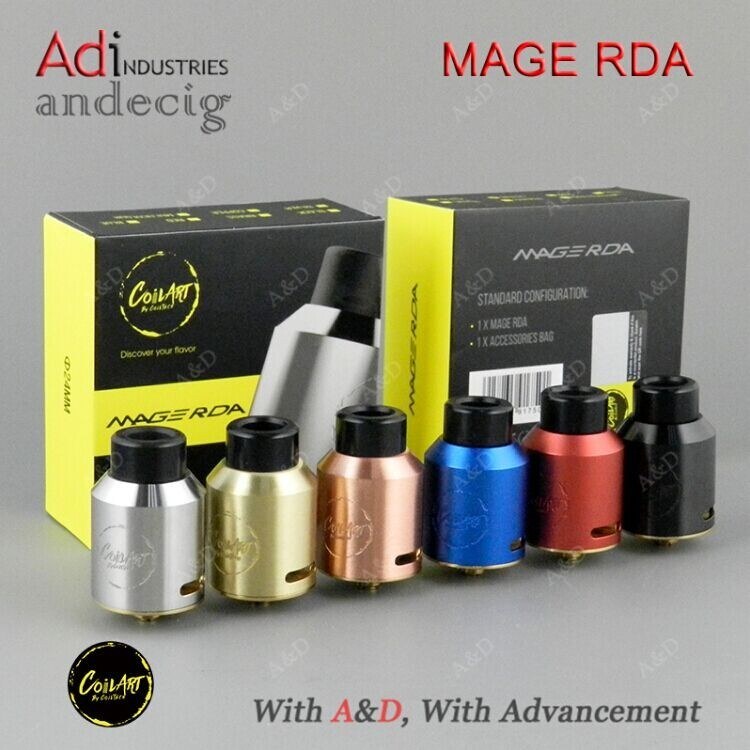 2017 New Release Coilart Mage Rda
