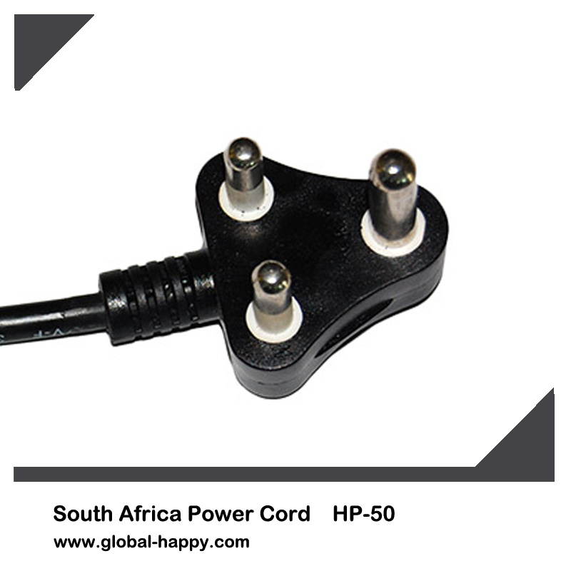 HP-50 Three Foot South Africa Power Cord