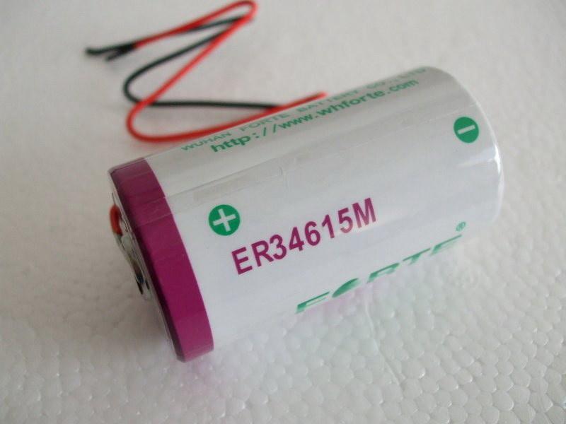 3.6V Lithium Battery for Electricity Meters Er14250 Er34615 Er14250m Er34615m