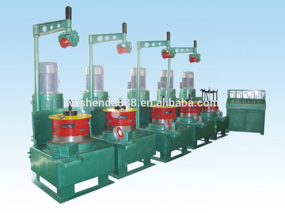 Pully Type Hot Sale Steel Wire Drawing Machine