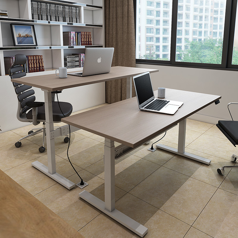 Office Electric Sit Stand Desk with Height Adjustable Function
