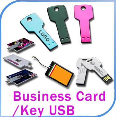 China 1GB Popular Credit Business Card USB Key China Usb