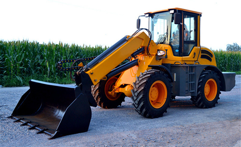 China 2500kg Telescopic Wheel Loader with Ce
