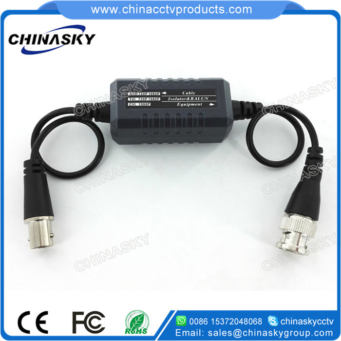 HD-Cvi/Tvi/Ahd Video Ground Loop Isolator for Coaxial Cable (GB100HD)