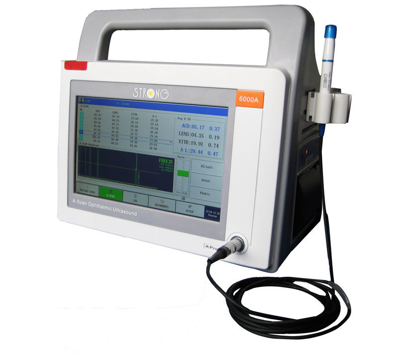 Ultra-Portable and Digital a-Scan Ophthalmic Ultrasound (6000A)