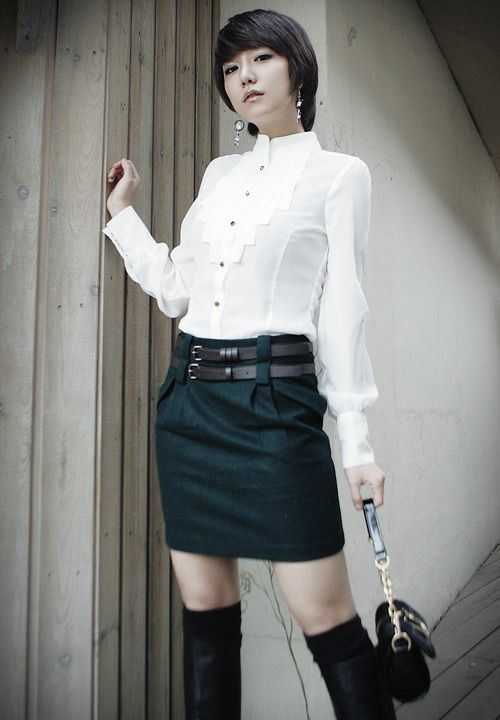 China Ladies Korean Fashion Clothes China Garment