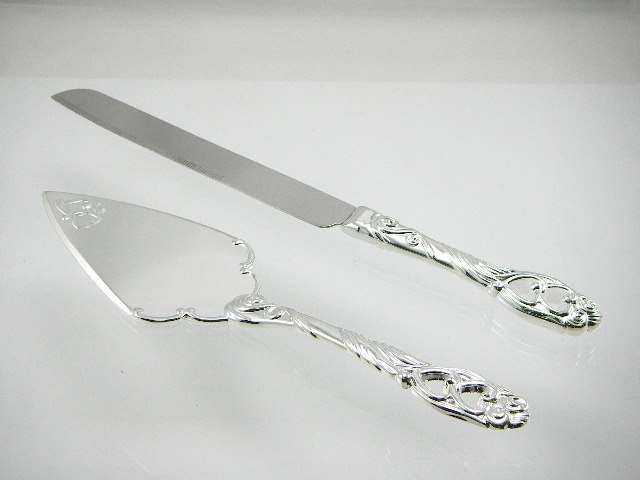 China Wedding Cake Knife And Server Set China Wedding Cake Knife And