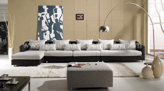 Modern Sofa (GB065-B) - China Fabric Sofa,