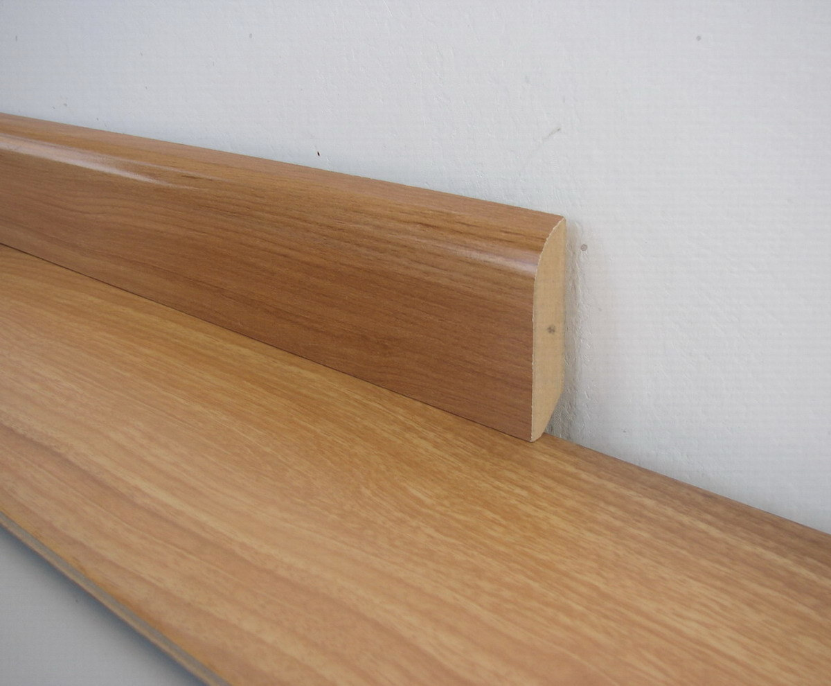 china 6cm width skirting for laminate flooring