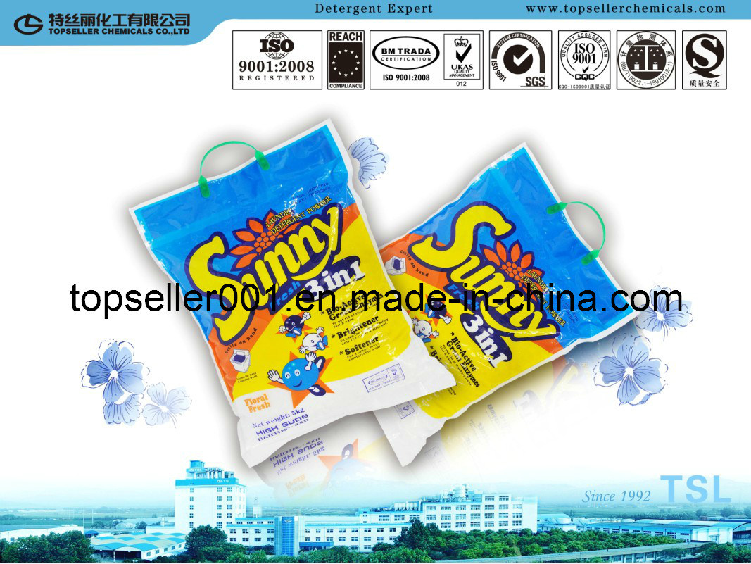 Sunny Brand Detergent Powder- Bag No Harm for Hand Washing