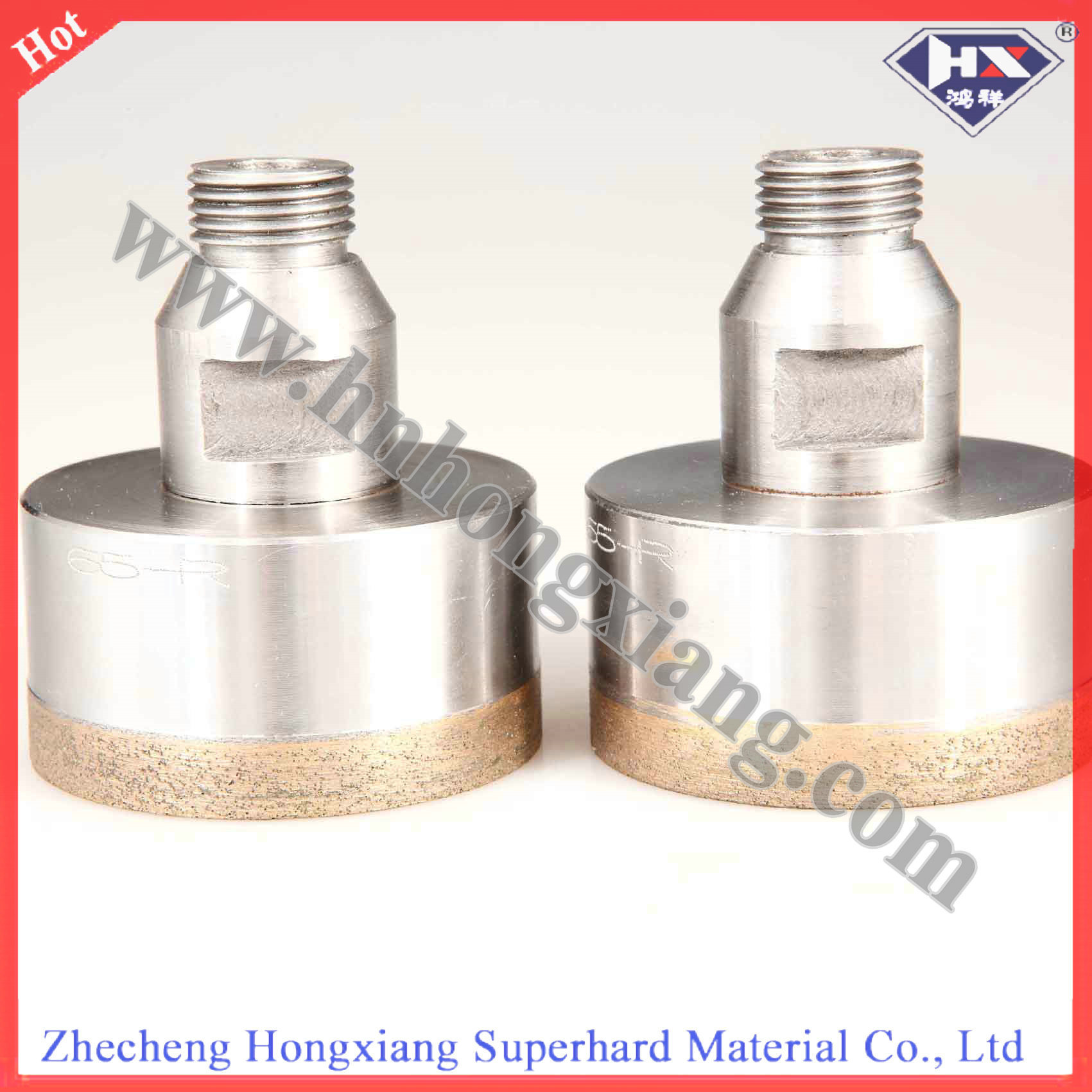 Thin Wall Diamond Hole Saw for Glass Drilling