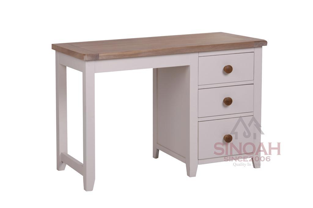 china white painted oak wooden bedroom furniture dressing