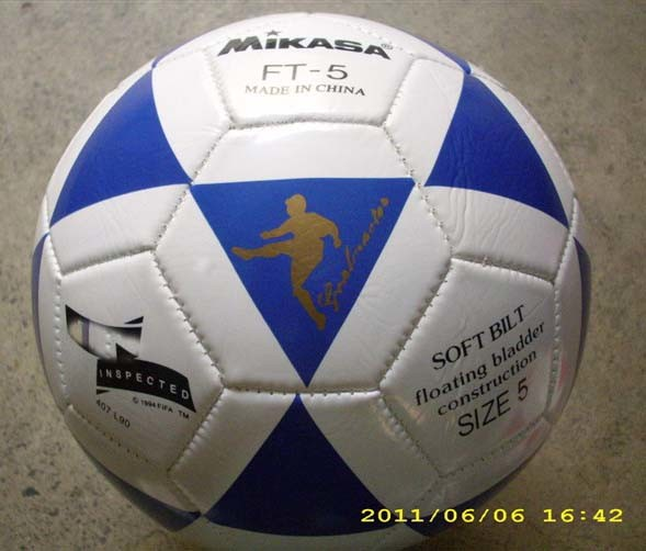 PVC Football TPU Soccer Ball Rubber Ball