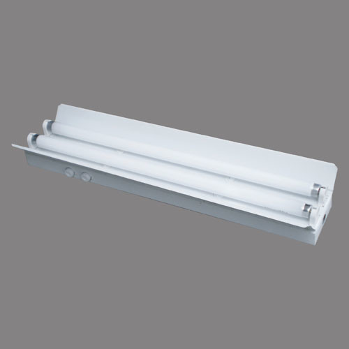 T8 Double Light Fixture: China T8 Fluorescent Lamp Fixture With Reflector(Double