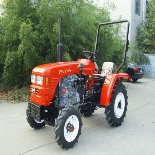 China Small Farm Wheel Garden Tractor 18hp 4wd Fr184