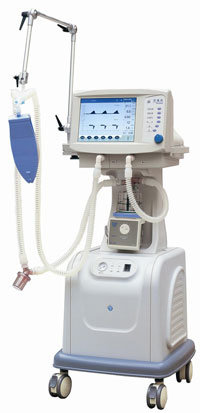 CE Marked LCD Display ICU Portable Ventilators Manufacturer (CWH-3010)
