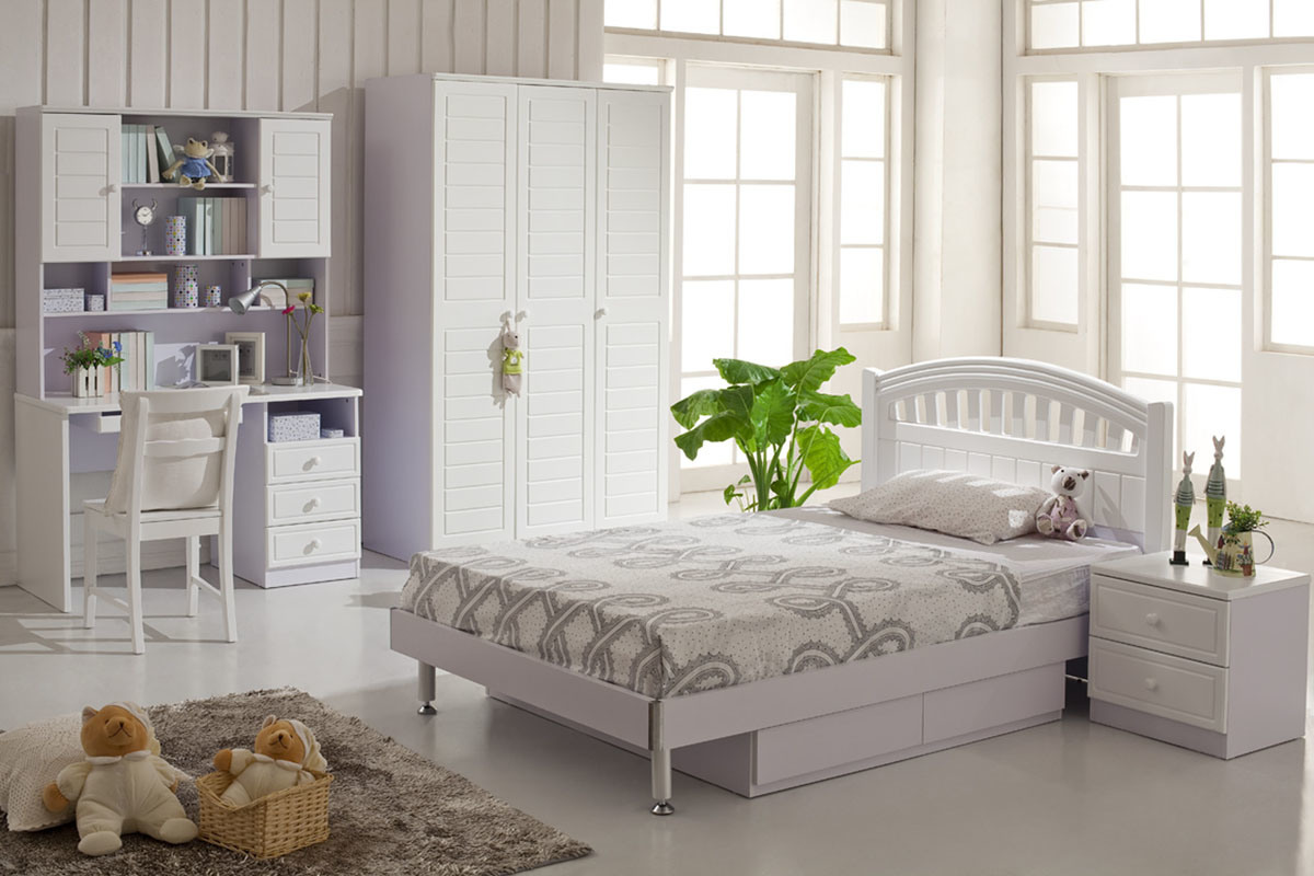 Kids White Bedroom Furniture 1200 x 800