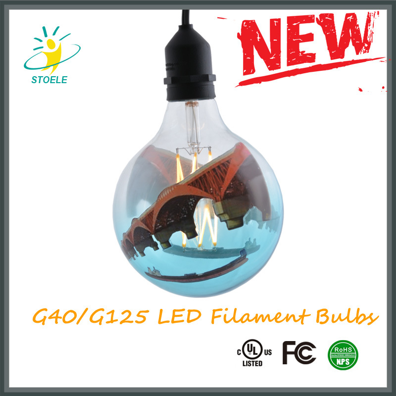 G40/G125 LED Light Bulbs 4W/6W/8W 420/650/850lumens UL Listed, Ce Certificate