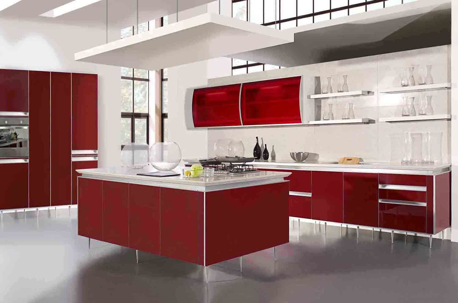 Impressive Red Kitchen CabiDesigns 1500 x 993 · 76 kB · jpeg