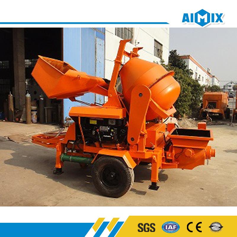 8m3/H Mini Concrete Mixer Pump for Concrete Mixing Plant