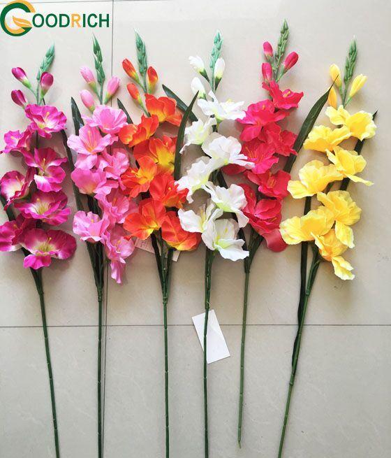 Single Artificial Silk Flower