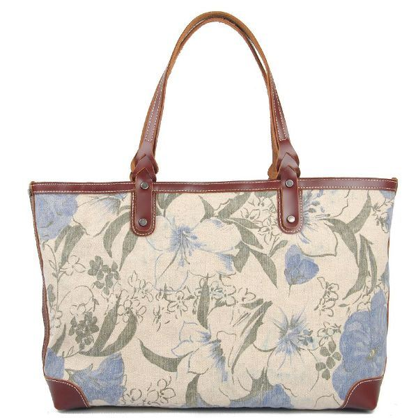 Designer Printing Canvas Bags Fashion Ladies Handbags (RS-8589B)