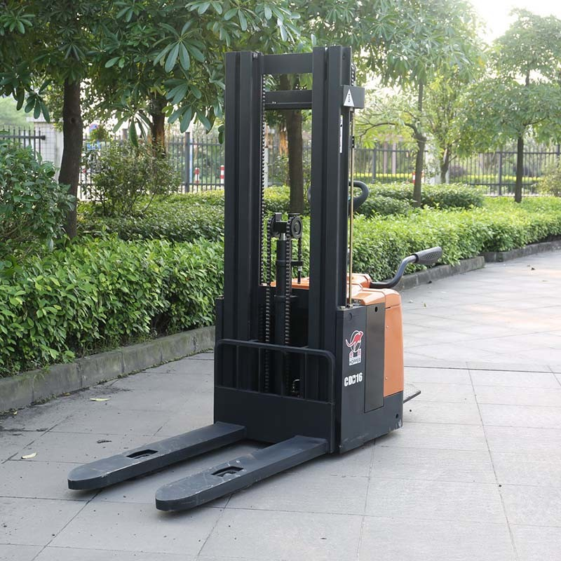 Marshell Brand Forklift Truck 1.6t Electric Pallet Stacker (CDD16)