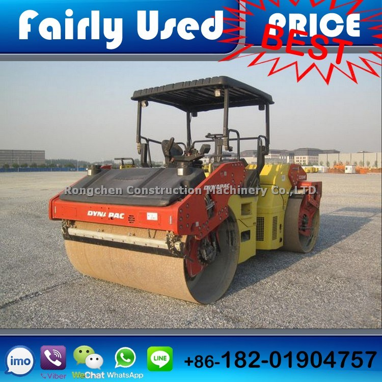 Used Road Roller Dynapac Cc624hf Tandem Vibratory Roller