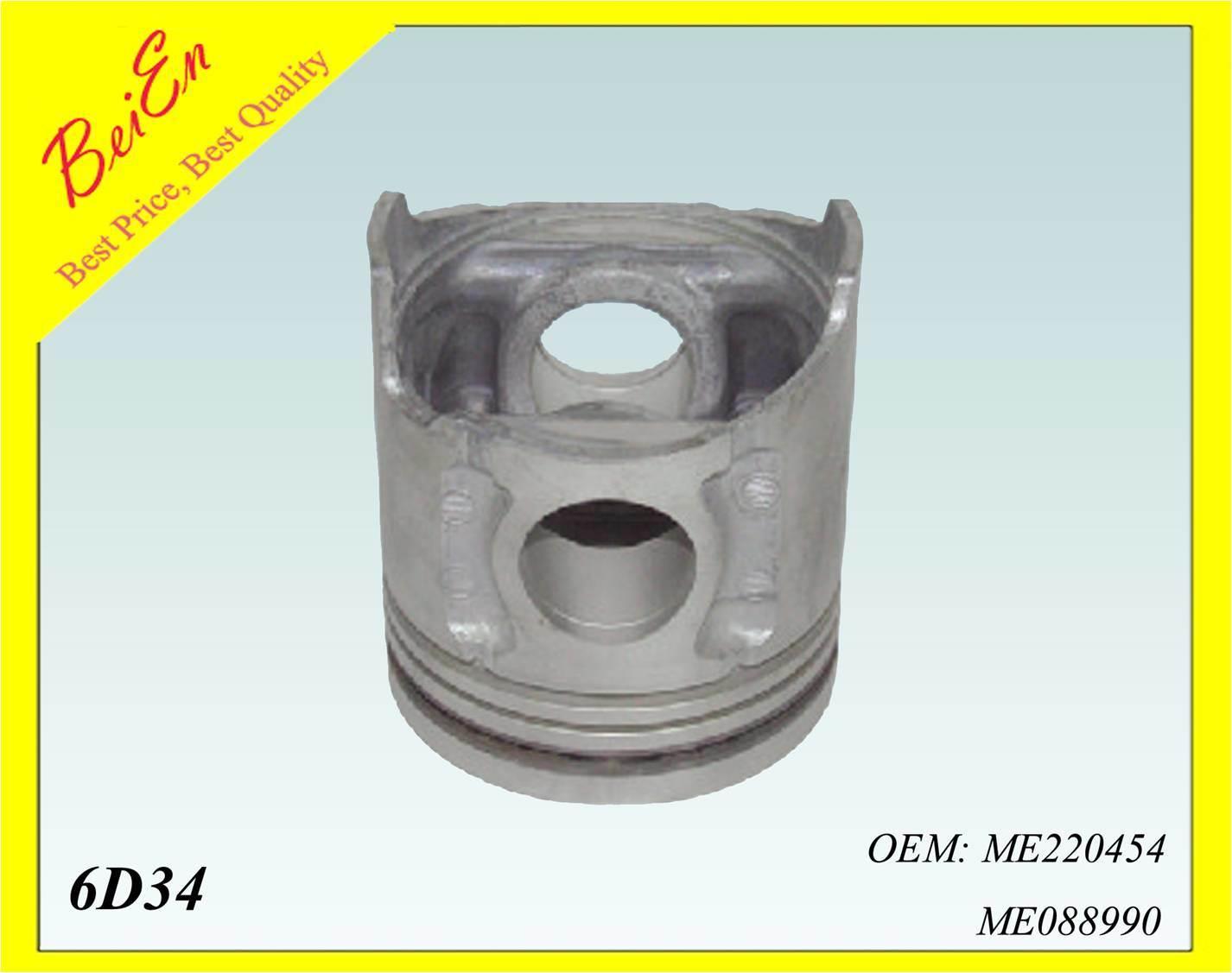 Piston Formitsubishi Excavator Engine 6D34 Model (PART NUMBER: ME220454/ME088990)