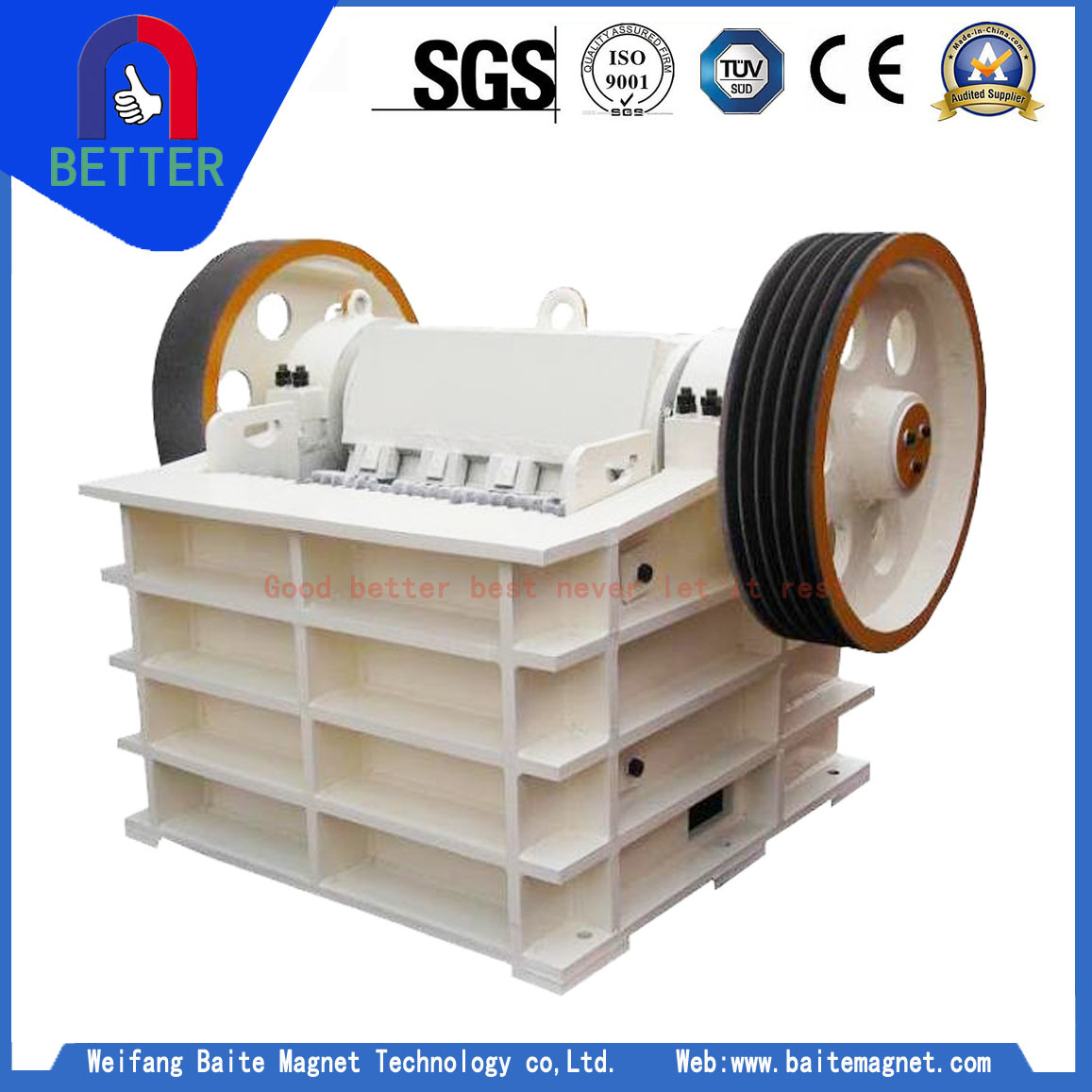 Fex Quotes China Isoce Certification Fex150X250 Series Miningjaw Crusher