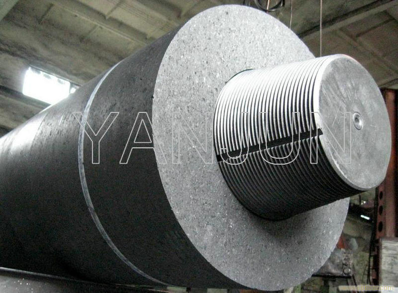 UHP450mm Graphite Electrodes with Nipple