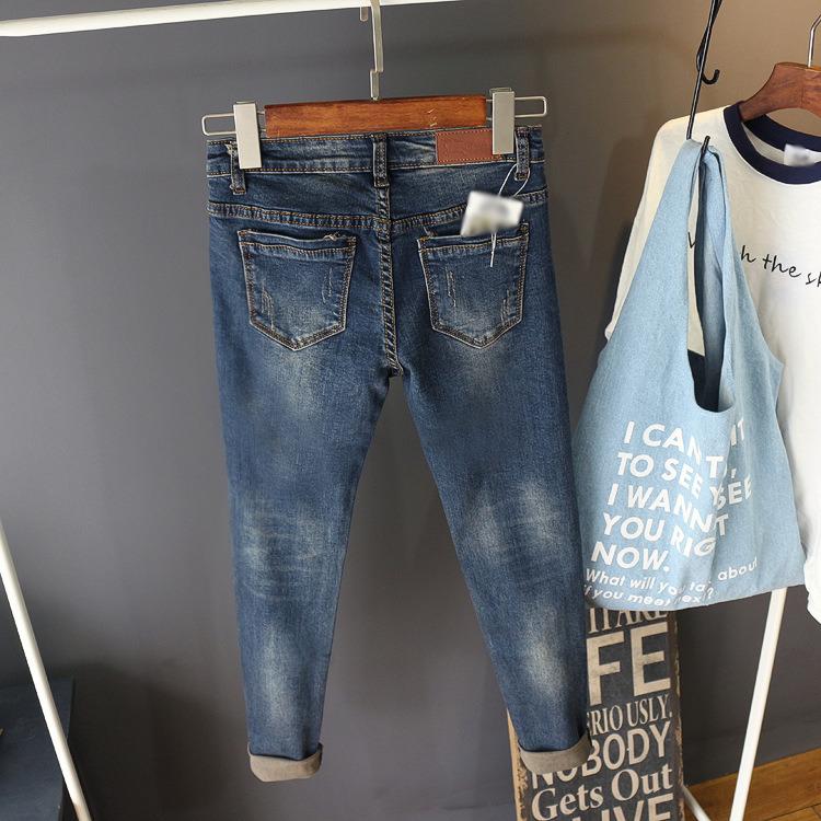 Kerol Style Cotton Spandex Skinny Women Jean