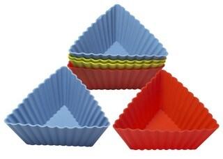 Silicone Triangle Cake Cup & Cake Mould &Bakeware FDA/LFGB (SY6609)