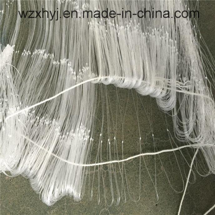 "0.36mmx4 1/2""X70mdx80yds Nylon Monofilament Fishing Net"