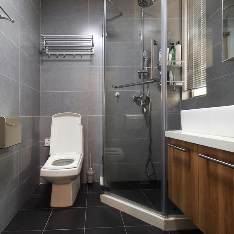 Upward Turning Stainless Steel Bathroom Sanitary Ware Towel Rack (M05)
