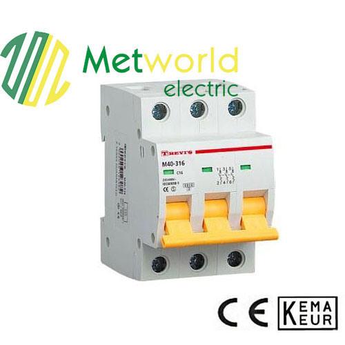 Mini Circuit Breaker Miniature Circuit Breaker MCB CE Kema Certificate