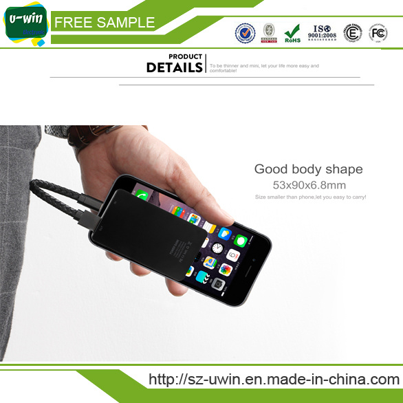 Mini 2200mAh Mobile Phone Charger for Gift