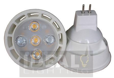 LED Bulb 5X1w MR16 Replace Halogen 40W