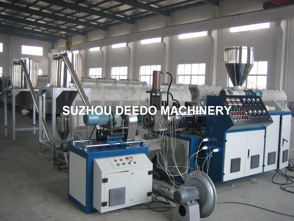 Plastic Recycling PVC Pelletizer Pelletizing Line Machine