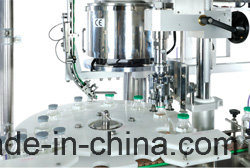 Automatic Eye Drops Liquid Glass & Plastic Bottle Filling Capping Machine