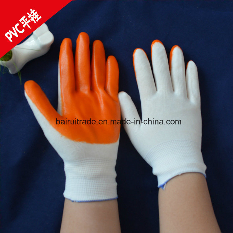 PVC Rubber Gloves Dipped PVC Gloves Knitted Gloves Tractor-Trailer