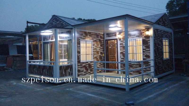 Confortable Living Mobile Prefabricated/Prefab House/ Villa for Holidays