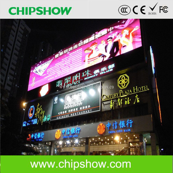 Chipshow Reasonable Price Ak6.6s Full Color Outdoor LED Video Wall