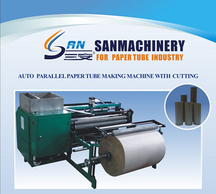 Parallel Paper Tube Core Making Machine with Good Quality