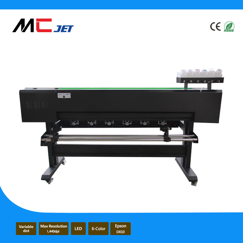 Mcjet Eco-Solvent Digital Flex Printing Machine with Epson Dx10 Printheads