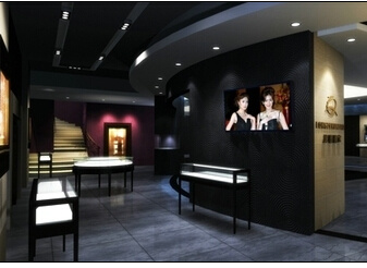 Shopping Mall Luxury Jewelry Mall Kiosk Ideas