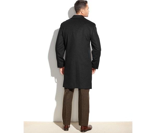 Wholesale OEM Men′s Long Coat in Cashmere